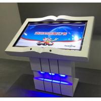 Buy cheap Stock 43 Inch Smart Interactive Multi Touch Table With PC Inside Based On Gesture Turn The Pages from wholesalers