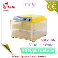 Buy cheap EW-96 Automatic Newest CE certificate automatic incubator for quail eggs for sale from wholesalers