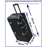 Buy cheap aluminum Rolling Beautitician Case with folder drawers KLMSY400-260-760 from wholesalers