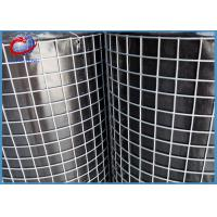 Buy cheap Galvanized Welded Wire Mesh Rolls For Construction 0.5M - 3.0M Width from wholesalers