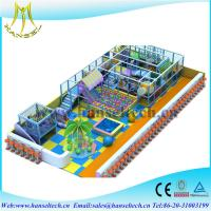 Hansel indoor amusement park for kids indoor soft play equipment play land Manufactures