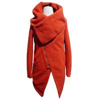 Buy cheap Red womens wool winter coats long female jackets in XS S M L XL XXL size from wholesalers