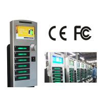 Buy cheap Free Standing Cell Phone Charging Station With 6 Safe E - Lock Charging Box product
