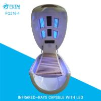 Far infrared spa capsule with 2 LED light therapy beds FQ216-4 Manufactures