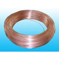 Buy cheap Good Plasticity Air Conditioning Copper Tubing / Condenser Tube 3.6* 0.5 mm from wholesalers