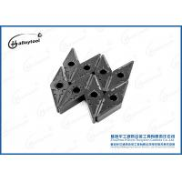 Buy cheap VNMG Tungsten Carbide Indexable Inserts , Cnc Turning Inserts Tools from wholesalers