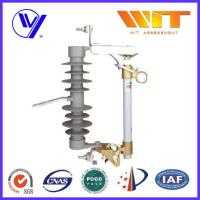 Buy cheap 15KV - 27KV Composite Polymer Dropout Fuse Cutout Silicon Rubber Material from wholesalers