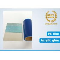 Buy cheap 50 micron scuff resistance eco friendly protective film for sus304ba with low tack adhesive from wholesalers