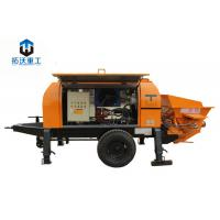 Buy cheap Advanced Hydraulic System Electric Concrete Pump With Highly Wear Resistant Parts product