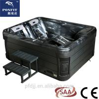 Buy cheap Outdoor Freestanding Spa Tub Center Drain Location With Freestanding Installation from wholesalers