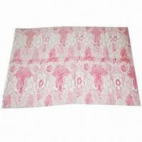Buy cheap 200S cashmere yarn/hand printed wool scarf, 200x70cm, 56g from wholesalers