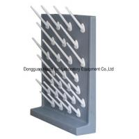 Buy cheap PP Material Lab Drying Rack Pegs , Laboratory Glassware Rack Wall / Desktop Mounted from wholesalers