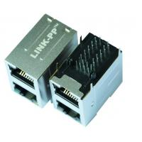 LPJ17409A8NL Cross 101210F90SPM400ZA Stacked RJ45 2 x 1 Port Connector Manufactures
