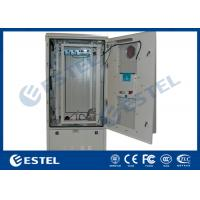 Buy cheap 23U Removable Rear Panel Outdoor Telecom Battery Cabinet With Heat Exchanger from wholesalers