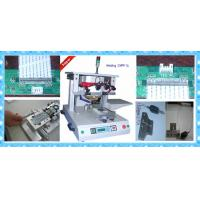 Buy cheap linear guideway moving single-position hot bar welding machine with pulse heat CWPP-1A from wholesalers