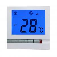 Buy cheap HVAC Systems Type FCU controller thermostat for fan coil from wholesalers