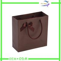 Buy cheap Paper Fashion Shopping Bags for Women , Custom Reusable Shopping Bags from wholesalers