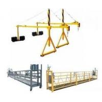 Buy cheap Height work Adjustable 1M - 10M Rope suspended platform GZ5001 for high rise building from wholesalers