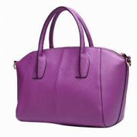 Buy cheap Formal Stylish Ladies Leather Briefcase For Office Lady Meeting Smoothly Feeling Tote from wholesalers