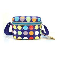 Wholesale Eco-Friendly Rectangle Neoprene Lunch Tote With Shoulder Stap For Food Storage from china suppliers