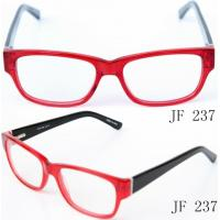 China Classical Acetate Eyeglass Frames For Women, Red Ladies Acetate Optical Frames on sale