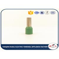 Buy cheap Single Wire Cord end sleeve ferrules tube type cable Terminal from wholesalers