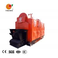 Buy cheap Horizontal Biomass Fired Steam Boiler , Wood Fired Hot Water Boiler 1-20 T/H Rated Output from wholesalers