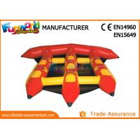 Wholesale 0.9mm PVC Tarpaulin Inflatable Water Toys For Adults / Lake Flying Fish Water Sport from china suppliers