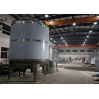 Wholesale 100L - 10000 L Food Grade Storage Tanks , Stainless Steel Pressure Vessel from china suppliers