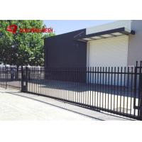 Buy cheap Galvanized Steel Spear Top Security Fencing Heavy Duty 2 Rail Powder Coated from wholesalers