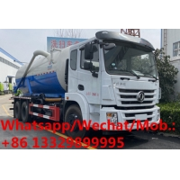 Buy cheap Big Volume Vacuum Truck 16000L Dongfeng 6x4 Sewage Vacuum Truck for sale, Good price new sewage suction tanker vehicle from wholesalers