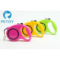 Buy cheap Heavy Duty Retractable Pet Leashes Quick Release Basic Collars Type from wholesalers