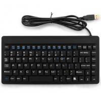Buy cheap Light Weight Flexible Abs Logitech Backlit Industrial Mini Keyboard For Computer from wholesalers