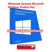 Buy cheap Microsoft Windows Server 2012 Datacenter x64, FPP Online Activation Key from wholesalers