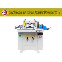 Buy cheap Small Hole Set Precision Die Cutting Machine , Fabric Die Cutter Machine from wholesalers