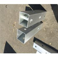 Buy cheap Q235 Material Metal Fence Accessories Steel Perforated Square Tube ISO9001 CE from wholesalers