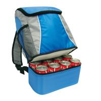 China sling ice fishing camping water beverage food foil 6 cans cooler backpack lunch bag on sale