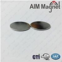 Buy cheap china ndfeb magnet manufacturer customized Disc D12x0.8mm Zinc coating from wholesalers