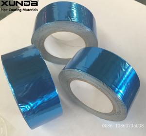 Buy cheap blue Aluminium Lamination Butyl Flashing sealing Tape for construction from wholesalers