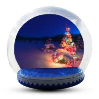Buy cheap Large Inflatable Snow Globe For Outdoor Christmas Decoration EN14960 from wholesalers