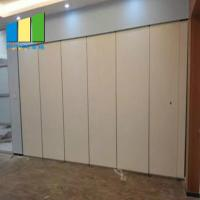 Buy cheap Acoustic Hanging Soundproof Sliding Partition Walls For Conference Room from wholesalers