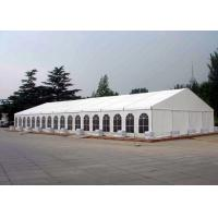 Waterproof Canvas Roof Steel Structure Canopy Party Tent For 200 / 100 People Manufactures