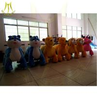 Hansel shopping mall animal pet ride with led necklace kids ride on toys Manufactures