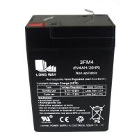 Buy cheap 6V4ah rechargeable ups lead acid mf battery from wholesalers
