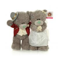 Buy cheap plush marriage gauze teddy bear toy,cloth teddy beat toy for wedding from wholesalers