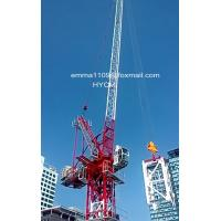Buy cheap D4522 45m Boom Luffing Tower Crane 2.2t Tip Load in Sri Lanka from wholesalers