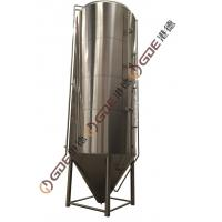 160 HL Stainless Steel Home Brew Equipment , 3mm Beer Fermentation Tank Manufactures