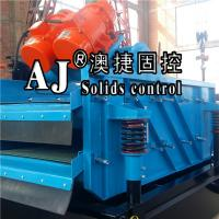 Buy cheap hot sales china drill oil equipment high efficient linear double layer shale shaker for solids control from wholesalers