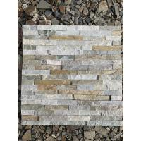 Buy cheap 100% Natural Slate Culture Stone Wall Cladding Panel For Inside And Outside Wall Decoration from wholesalers