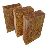 Wholesale AZM -1680 Silica mullite brick , fire resistant heat proof bricks Brown Color from china suppliers